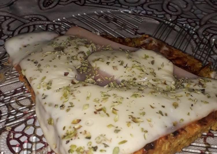 Pizza sin harina 🥕🥚🥘