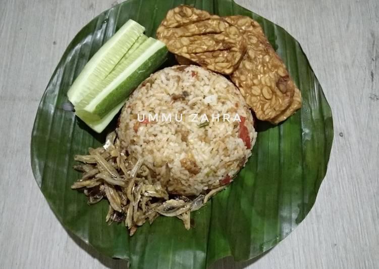 Nasi Tutug Oncom #1