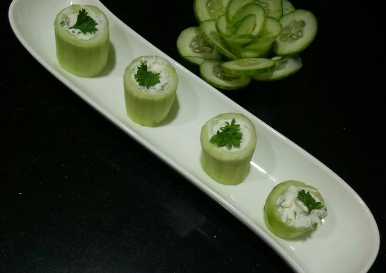 Cucumber Yogurt Rulade