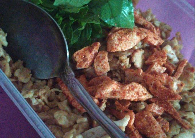 Nasi goreng ala rolled oat