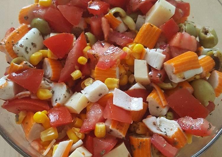 Petite salade fraîche et light