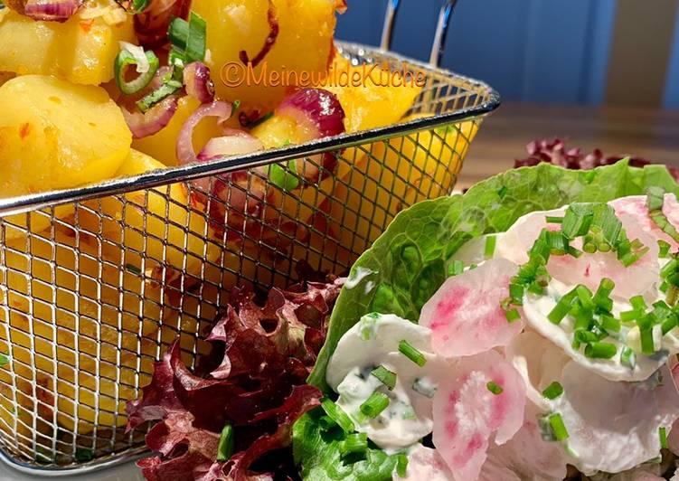 Easiest Way to Prepare Appetizing Kartoffeln mit Rettichsalat