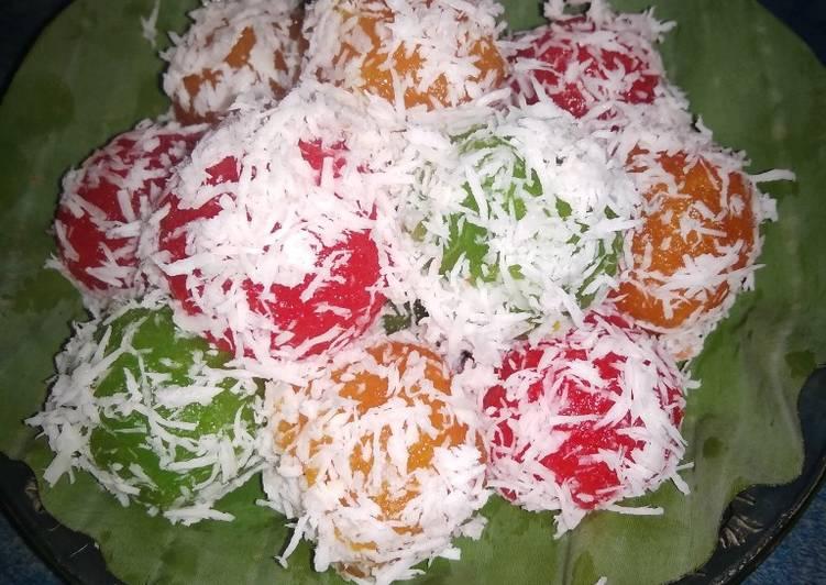 Resep Klepon Singkong Pelangi