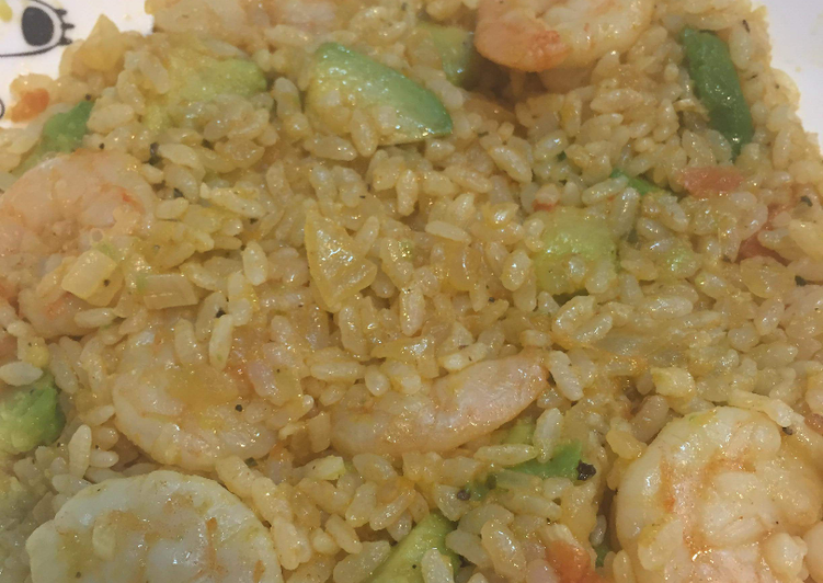 Recipe: Perfect Shrimp Avocado Fried Rice