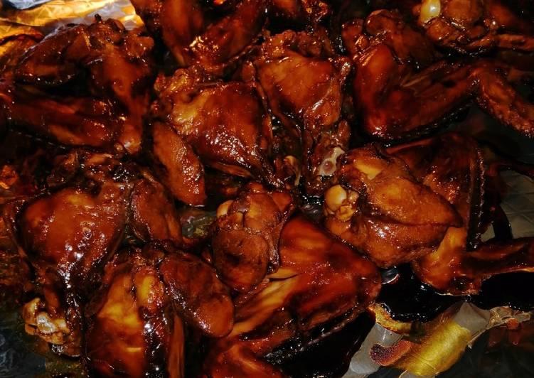 Ayam panggang kecap hitam - cookandrecipe.com