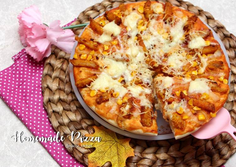 Pizza Nugget pakai Saus Pizza Hut