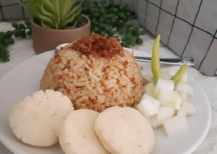 Nasi Goreng Teri Medan