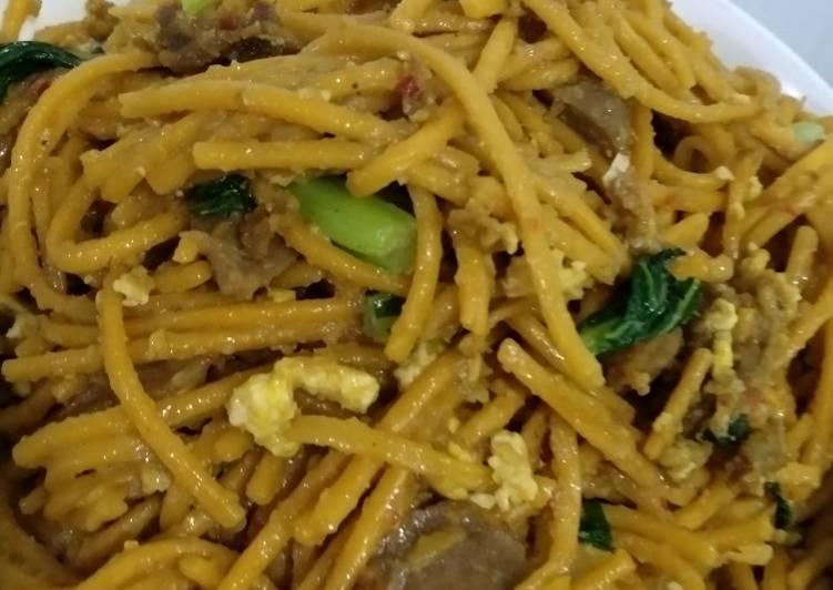 Spagheti Medan/ Mie LiDi Goreng khas SumUt😍