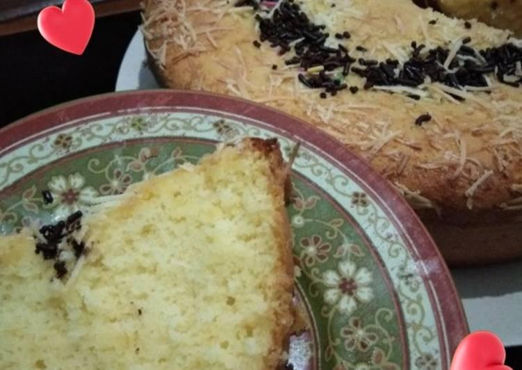 Cake tape keju - cookandrecipe.com