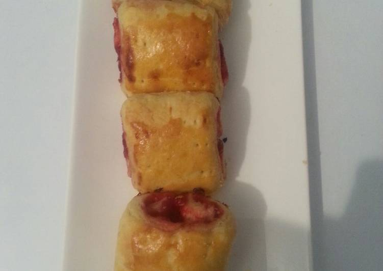 How to Prepare Award-winning Raspberry Chocolate Croisants# author Marathon contest#