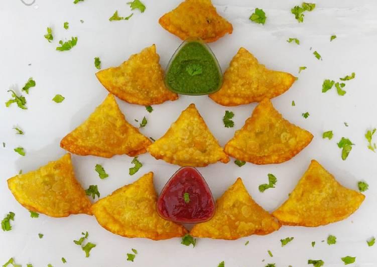 15 Minute Recipe of Award Winning Chicken Keema Samosa