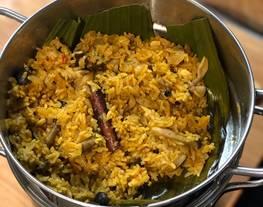 Nasi Kebuli tanpa daging/ Vegetarian Kebuli rice