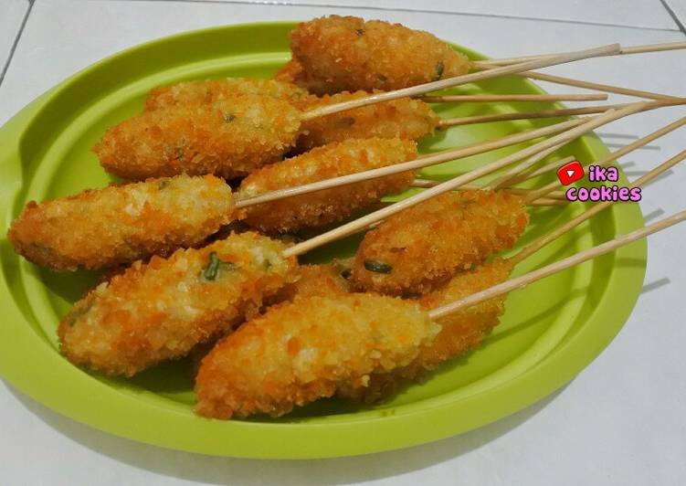 Resep Sempol ayam crispy Anti Gagal