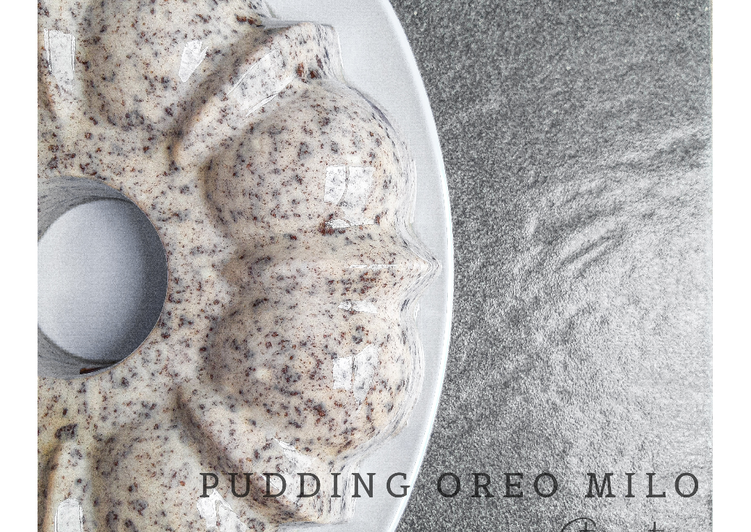 Pudding Oreo Milo