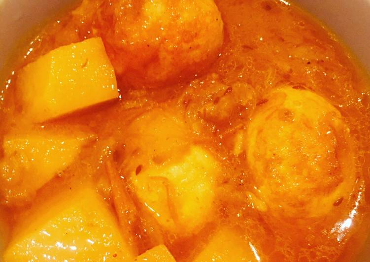 Easiest Way to Deemer Dalna(Bengali Egg Curry)