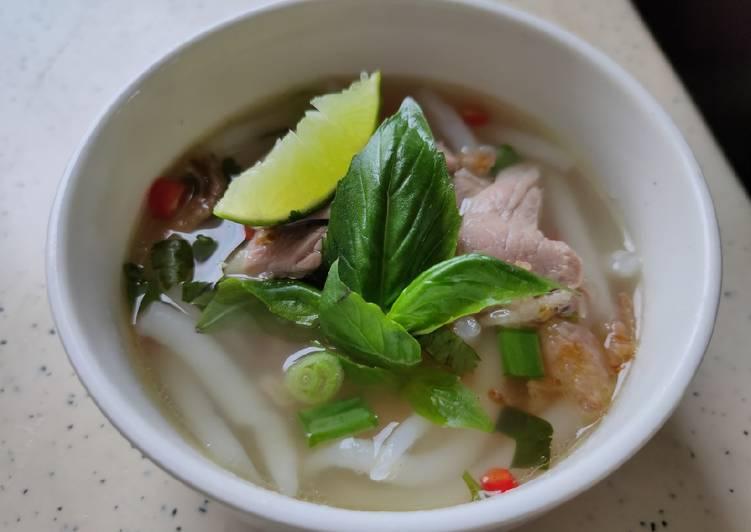 Resep Pho Noodles Mie Kuah Bening Vietnam Terbaik