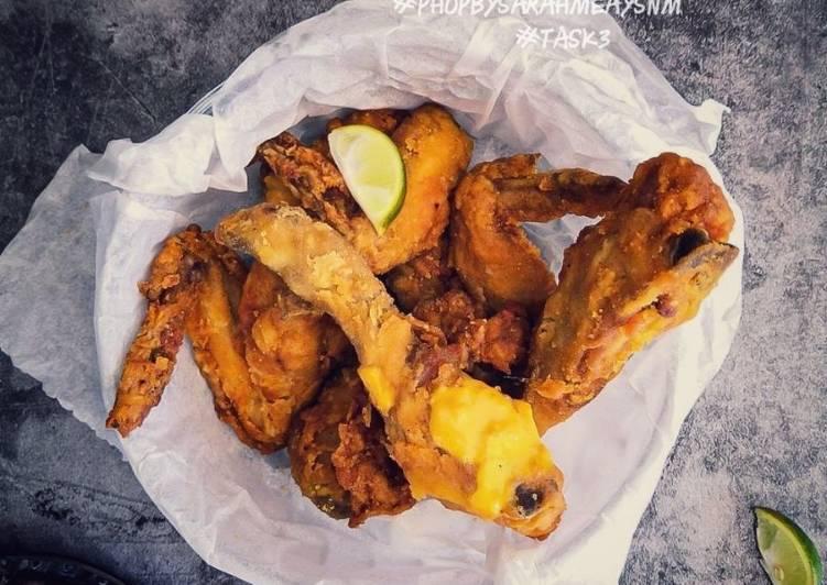 Ayam Goreng Cicah Cheese #phopbylinimohd #batch19 - velavinkabakery.com