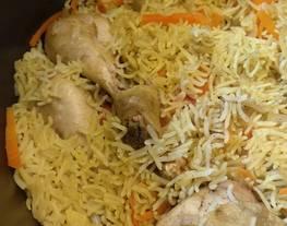 Nasi Briyani Ayam Buttermilk Praktis