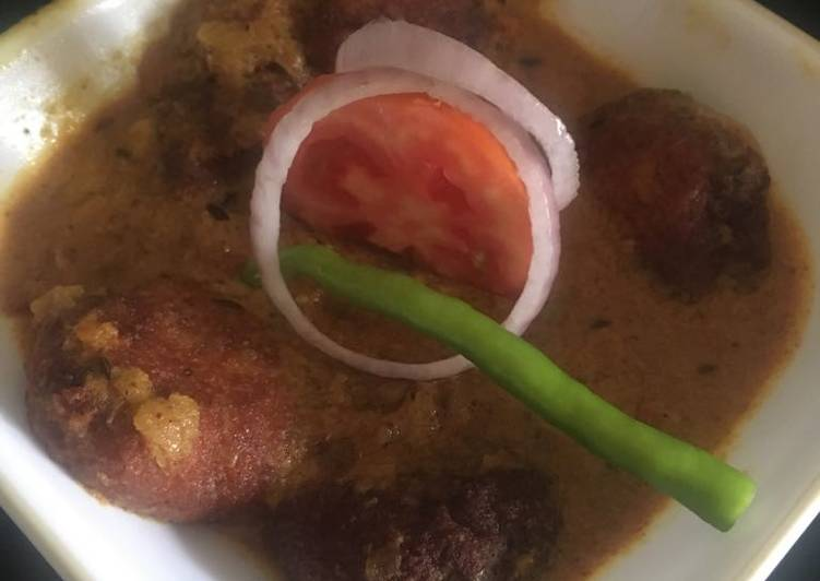 Paneer Kofta Curry Finding Healthy Fast Food