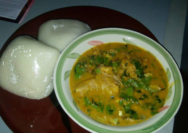 How to Make Any-night-of-the-week Fufu with Oha soup