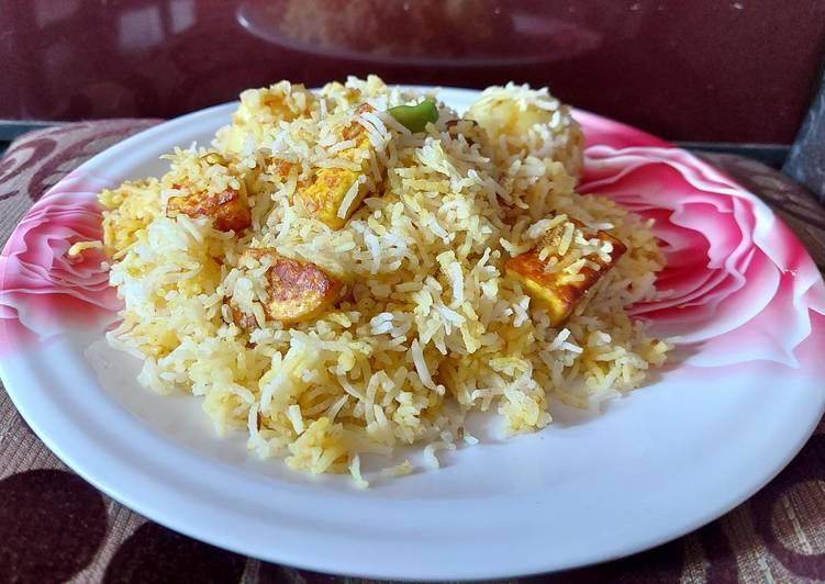 30 Minute Recipe of Favorite Paneer biriyani