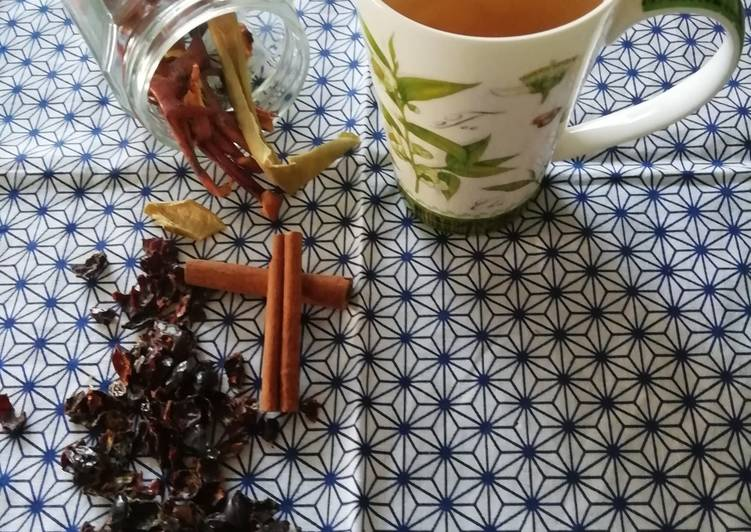 How to Make Yummy Tisane de cynorhodon, cannelle et pomme