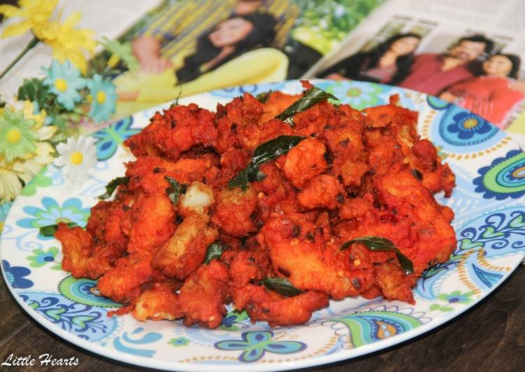 Tandoori Fish Pakora / Indian Style Deep Fish Fritters