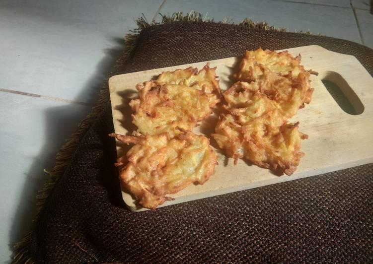 Cârang ubi goreng tepung