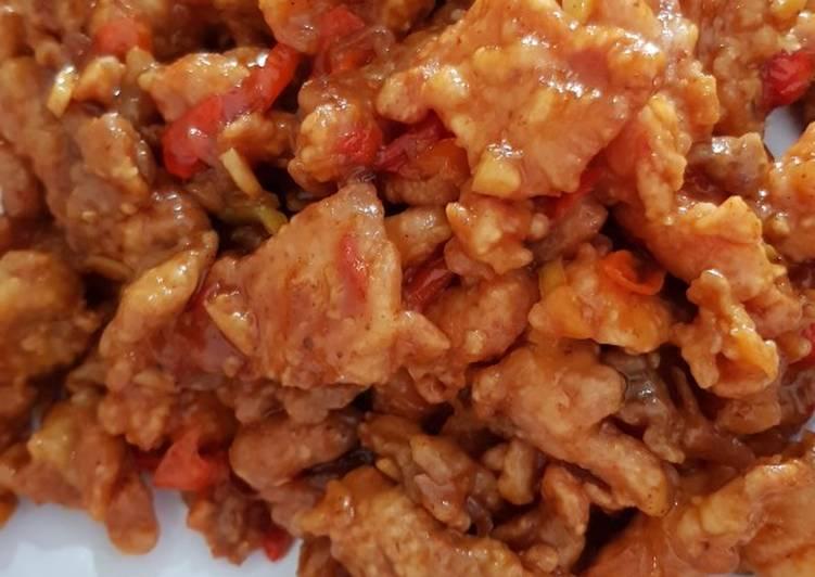 Resep Ayam pok pok pedas manis yang Lezat Sekali