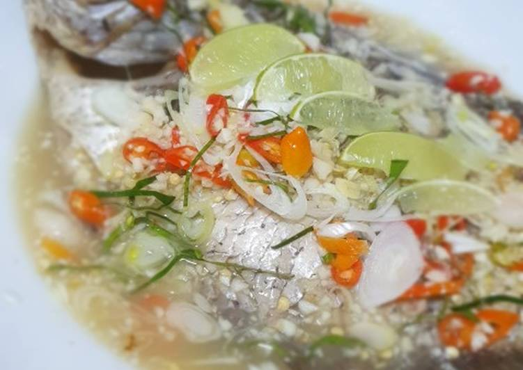 Thai steam fish