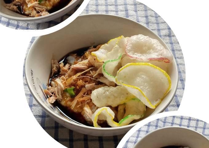 Cara Menghidangkan Bubur ayam home made Terbaik dan Mudah Dibuat