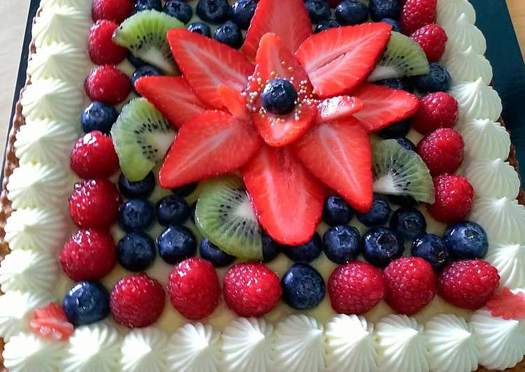 Ricetta Crostata alla frutta 🍓🥝🍓