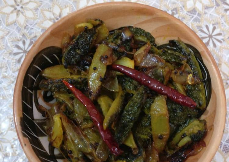 Easiest Way to Make Homemade Black Mustard Karela
