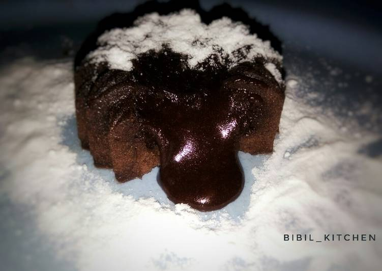 Choco lava steam cake