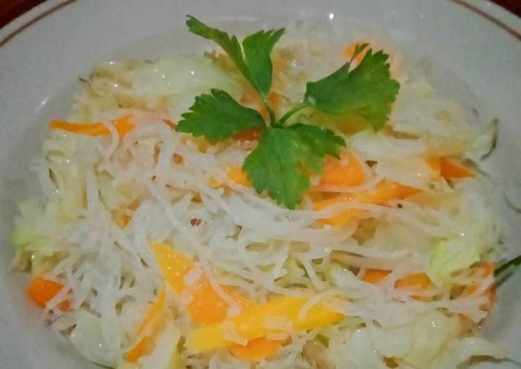 Resep Bihun Jagung Goreng Sayur Sehat Terbaik
