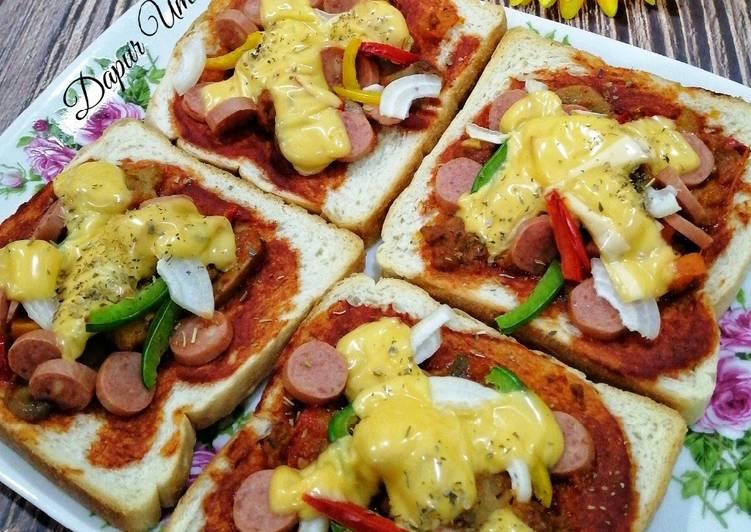 Resepi:  Pizza Roti Gardenia 🍕  Sempena PKP