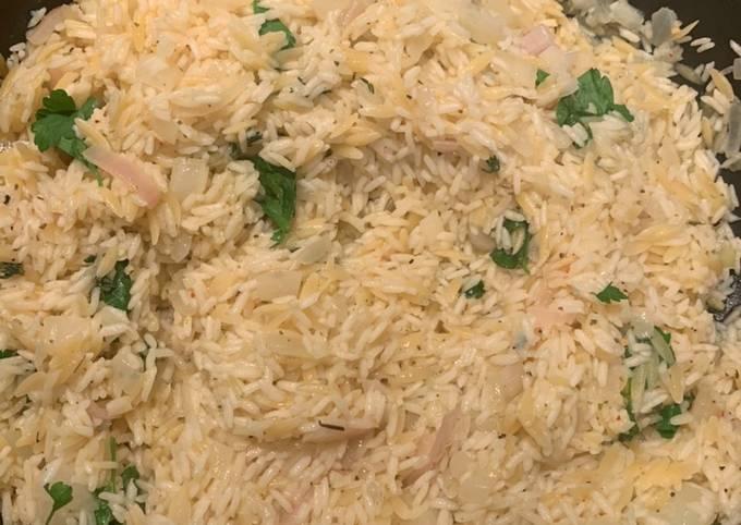 Lemon Orzo/ Mediterranean Rice
