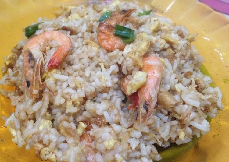 Langkah Mudah untuk Menyiapkan Nasi Goreng Seafood , Bikin Ngiler