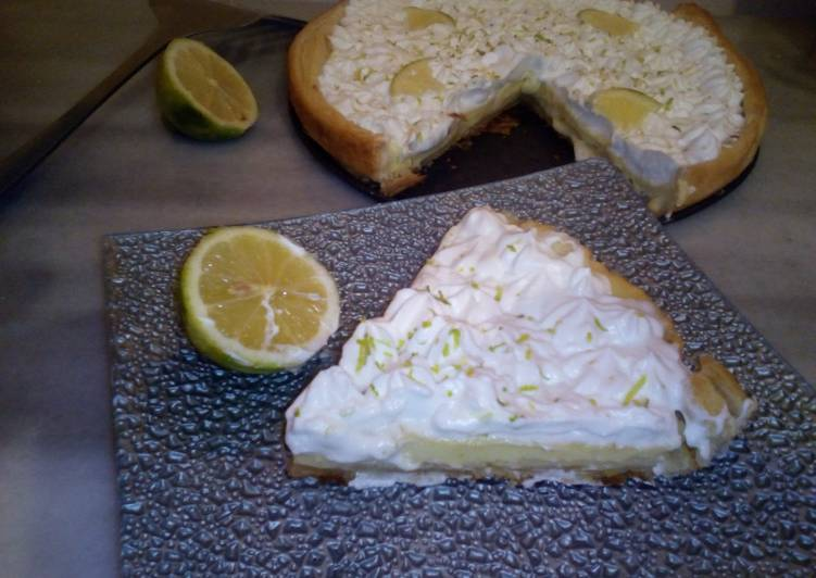 La Meilleur Recette De Tarte au citron