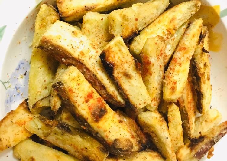Grilled sweet potatoe chips  #healthy #themechallenge