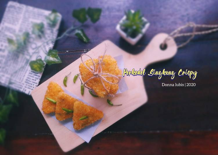 Perkedel Singkong Crispy