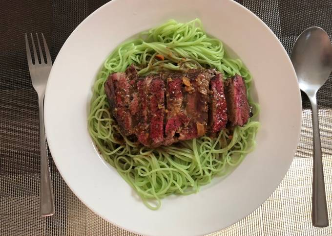 Thai MK Duck With Green Noodles