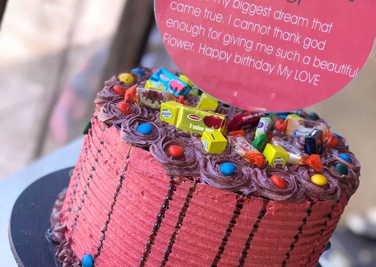 Awe Inspiring Birthday Cake Recipe By Fatima Ibrahim Wada Titteys Cakesmore Funny Birthday Cards Online Fluifree Goldxyz