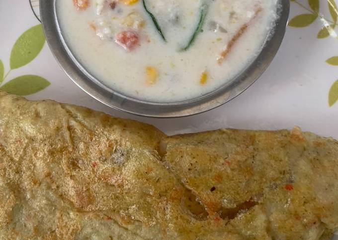 Simple Way to Prepare Perfect Proso millet dosa