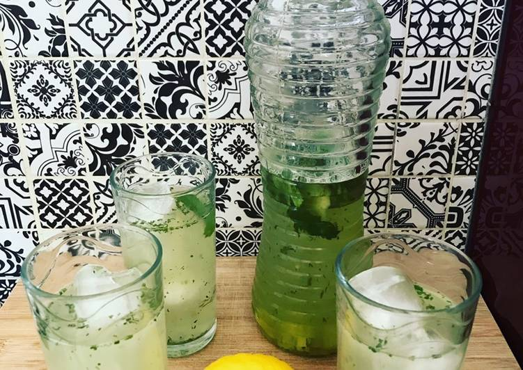 Easiest Way to Cook Yummy Boisson rafraîchissante menthe citron