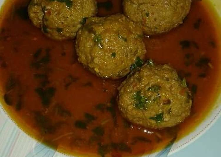 Beef kofta curry/Meat Balls