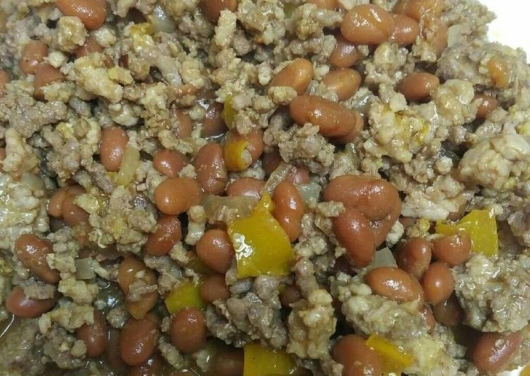 10 Minute Step-by-Step Guide to Prepare Winter Beef Pork and Beans
