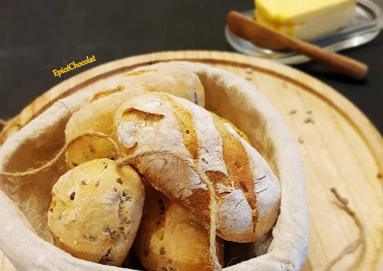Recette: Petits pains aux graines