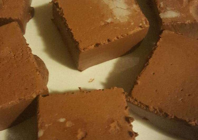 Healthy cocoa squares