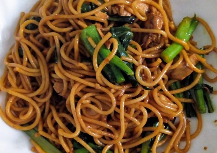 Easiest Way to Make Perfect Simple Indonesian Fried Noodle or Pasta